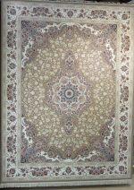 فرش قالی سلیمان طرح پونه شکلاتی
