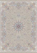 فرش قالی سلیمان طرح برکه بژ