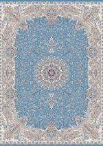 فرش قالی سلیمان طرح برکه آبی