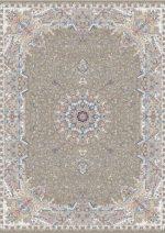 فرش قالی سلیمان طرح برکه شکلاتی