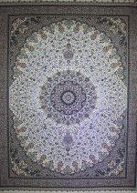 فرش پاتریس طرح الماس ۱۵۰۰ شانه کرم
