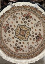 فرش دایره  ستاره کویر  کلکسیون سوپر گلیم