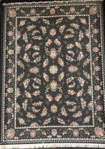 فرش تهران طرح باغ بهشت دودی