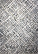 فرش ماشینی آرمانی  طرح پلاتینیوم کد ۵۰۰۲ زمینه طوسی