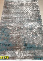 فرش آرمانی آذین ۳۱۷۹ وینتیج آبی