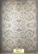 فرش کاخ کد طرح ۴۰۰۲۲ کرم ۱۵۰۰ شانه