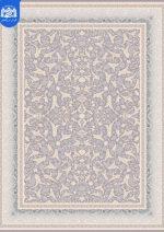 فرش بزرگمهر ۱۲۰۰ شانه برجسته کد ۱۴۱۰۵نقره ای