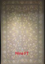 فرش تهران طرح نینا FT شانه ۱۲۰۰ تراکم ۳۶۰۰