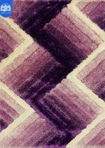 فرش شگی سه بعدی بزرگمهر ۵۰۸۴ بنفش