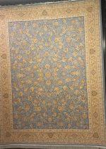 خاطره کویر کاشان طرح افشان سلطنتی ۱۶۰۰ شانه آبی