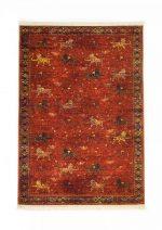 فرش ماشینی مرینوس طرح گبه کد ۶۰۰۱۰۴