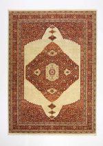 فرش ماشینی مرینوس طرح گبه کد ۶۰۰۱۶۲